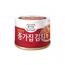 Mat kimchi v pločevinki 160g - JONGGA