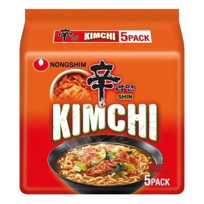 Instant juha z kimchi ramyun rezanci 120g x5 - NONGSHIM