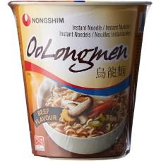 Instant juha z rezanci oolongmen govedino 75g - NONGSHIM
