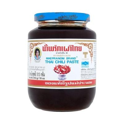 Tajska čilijeva  pasta 513g – MAE PRANOM