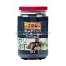 Česnova omaka s črnim fižolom 368g - LKK