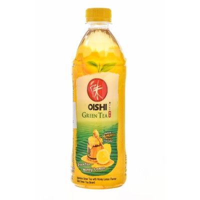 Zeleni čaj z limono in medom 500ml - OISHI
