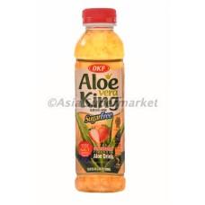 Aloe vera jagoda brez sladkorja 500ml - OKF