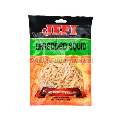 Prigrizek iz sušenih lignjev 30g - JEFI