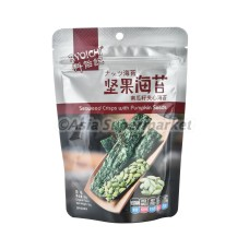Čips iz alg  s sezamom in bučnimi semeni 35g - RYOICHI