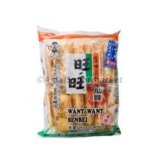Slani riževi krekerji 112g - WANT WANT
