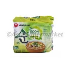 Instant zelenjavna juha z rezanci 120g x5 - NONGSHIM