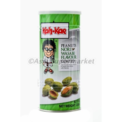 Arašidi z okusom nori wasabi 230g - KOH KAE