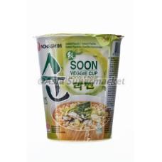 Instant zelenjavna juha z rezanci v lončku 75g - NONGSHIM