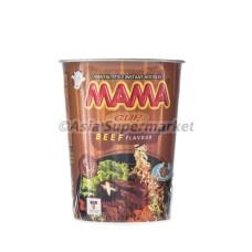 Instant rezanci v lončku z okusom govedine 70g - MAMA