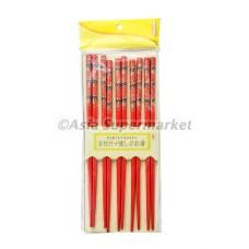 Japonske bambusove palčke (rdeče)