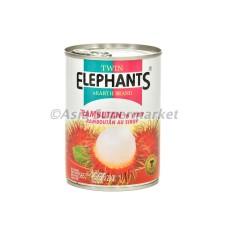 Kompot iz rambutana 565g - TWIN ELEPHANTS