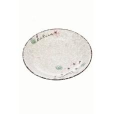 """Japonski keramični krožnik """"Snow"""" 18,8cm"""