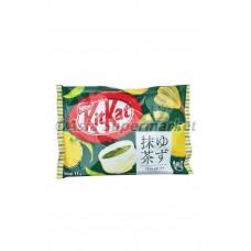 Kitkat yuzu matcha 147g - NESTLE