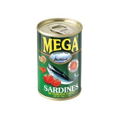 Sardine v paradižnikovi omaki 155g - MEGA